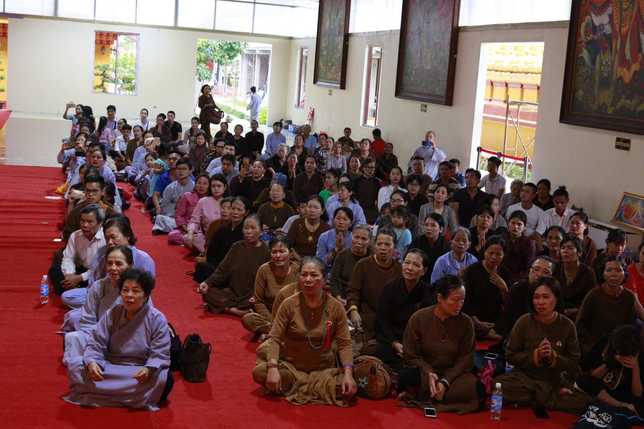 Khoá tu Amitabha – A Di Đà Phật ngày 14.12.2019 part.1