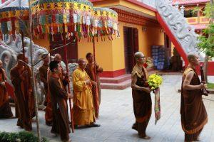 Lễ Thế Phát tại đại lễ Huý Kị Sư Tổ mùa thu 2019