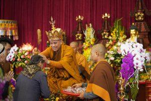 Khóa tu Amitabha – Đại Đàn Hỏa Thực – Lễ Quán Đinh 14.12.2019