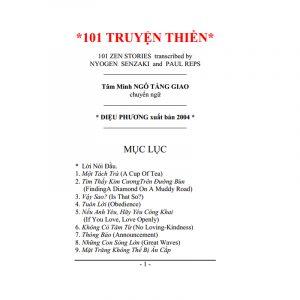101 Truyện Thiền (NXB Diệu Phương 2004) – Ngô Tằng Giao, 111 Trang